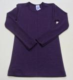 Cosilana Unterhemd langarm, 70% Bio-Wolle (kbT) und Seide, pflaume
