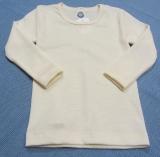 Cosilana Unterhemd langarm, 70% Bio-Wolle (kbT) und Seide, natur