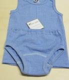 Cosilana Slip, Bio-Baumwolle-Bio-Wolle und Seide, blau