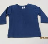 Leela cotton Shirt langarm, 100% Bio-Baumwolle (kbA), marine