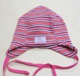 Mütze PICKAPOOH-Emil, 97% Bio-Baumwolle (kbA), rosa bunt