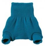 Disana Wollwindelhose, 100% Bio-Wolle (kbT), blau