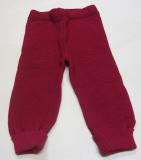 Reiff-Strick-Hose lang, 100% Bio-Wolle (kbT), burgund