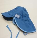Mütze mit Schild, PICKAPOOH-Tom UV 60, 100% Bio-Baumwolle (kbA), jeans