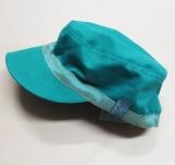 Mütze mit Schild, PICKAPOOH-Mika UV 80, 100% Bio-Baumwolle (kbA), greenslate