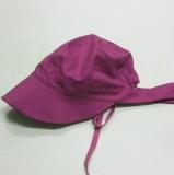 Mütze mit Schild PICKAPOOH-Amelie UV 80, 100% Bio-Baumwolle (kbA), dahlia