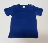 Leela cotton Shirt kurzarm, 100% Bio-Baumwolle (kbA), marine