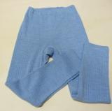 Cosilana Leggings, Bio-Baumwolle-Bio-Wolle und Seide, blau