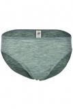Engel Damen-Bikini-Slip, 70% Bio-Wolle (kbT) und Seide, hellgrau